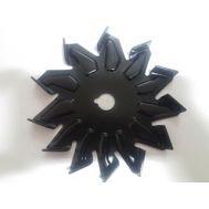 Крыльчатка генератора Bosch черная, фото 1