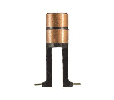 Коллектор генератора токосъемные 2110, 2112 (овал, пластиковые ножки) (8мм) Россия, фото 2
